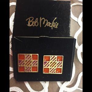 Clip on earrings by Bob Mackie